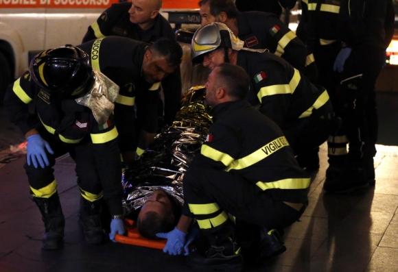 Няма риск от ампутация на крака за един от пострадалите в римското метро
