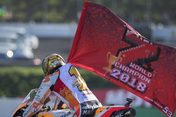 Цифрите зад шампионския сезон на Маркес в MotoGP