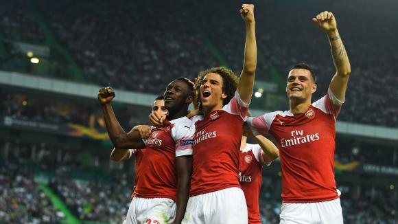 Арсенал няма спирачки - 11-та поредна победа (видео)
