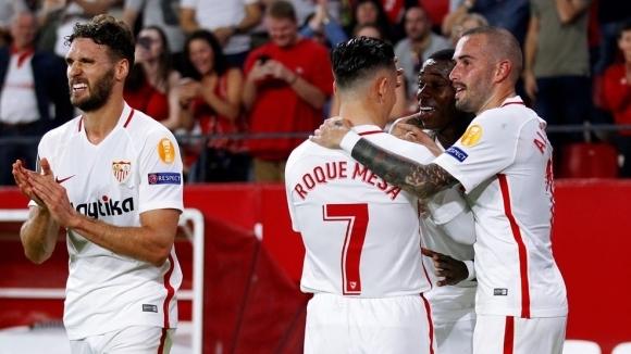 Севиля разпарчетоса турски тим в Лига Европа (видео)