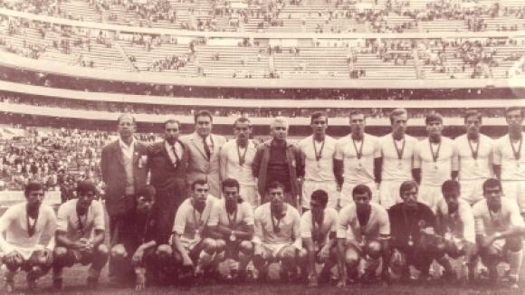 """50 години от сребърните медали на """"Ацтека"""""""