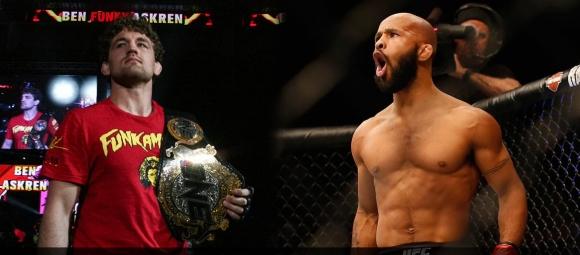 UFC даде легендата си Диметриъс Джонсън, за да получи Бен Аскрен