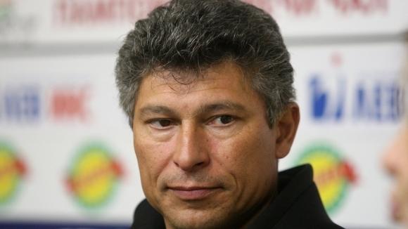 Балъков: Иска ми не само отборът да прави крачка напред