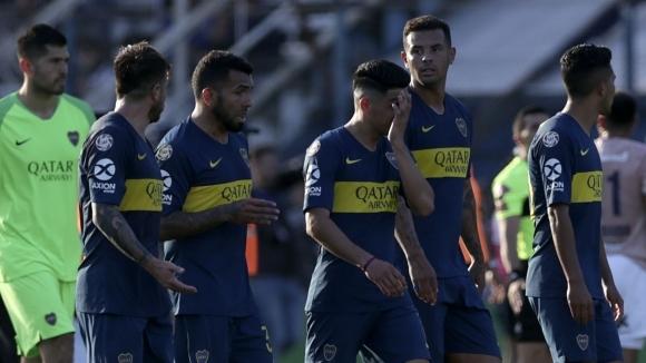 Бока Хуниорс мисли за Либертадорес и записа нова загуба в Аржентина