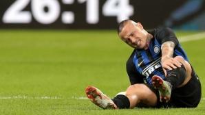 Интер без Наинголан срещу Барселона