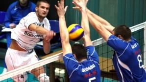 Йордан Желязков е реализатор №1 в 1-ия кръг на родната Суперлига