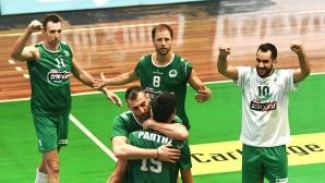 Супер Бобо с 19 точки, ПАО тръгна с драматична загуба в Гърция (снимки)