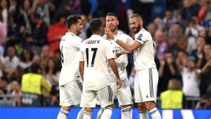 """Съставите на Реал Мадрид - Виктория, важна промяна при """"белите"""""""