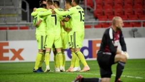 Динамо (Загреб) оглави Група D след обрат в Търнава (видео)