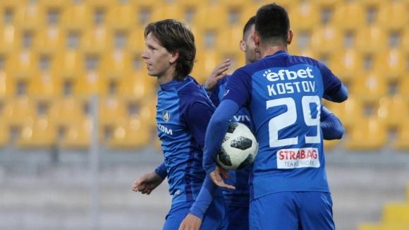 Талант на Левски заби хеттрик за първа победа на България (U17) и даде минимална надежда за класиране
