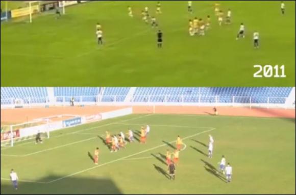 Нещо невероятно се случи на мач в Русия (видео)