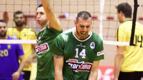 Супер Бобо с 16 точки, Панатинайскос с втора драматична загуба в Гърция (видео + снимки)