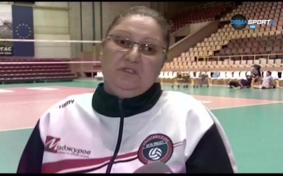 Весела Братоева - първата жена треньор в мъжкия волейболен елит