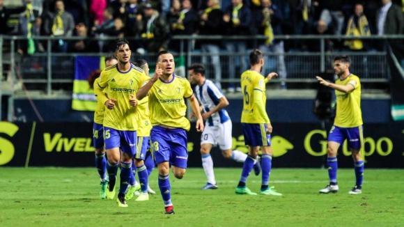 Кадис взе преднина срещу Еспаньол за Купата на Испания