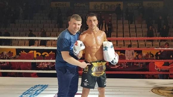 Атанас Божилов показа класа за световната титла по К1 на Muay Thai Grand Prix Bulgaria