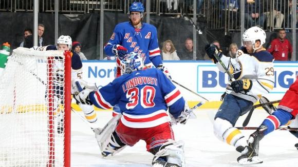 Ню Йорк Рейнджърс постигна трета поредна победа в НХЛ