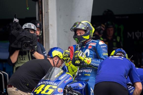 Валентино най-после е доволен от инженерите на Yamaha