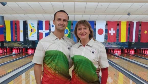 Марина Стефанова и Руслан Василев ще представят България на Световната Купа по боулинг в Лас Вегас