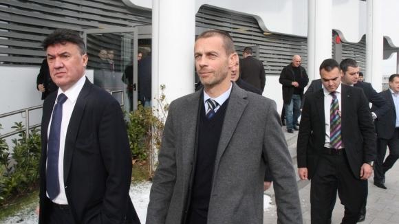 Александър Чеферин ще бъде преизбран за президент на УЕФА