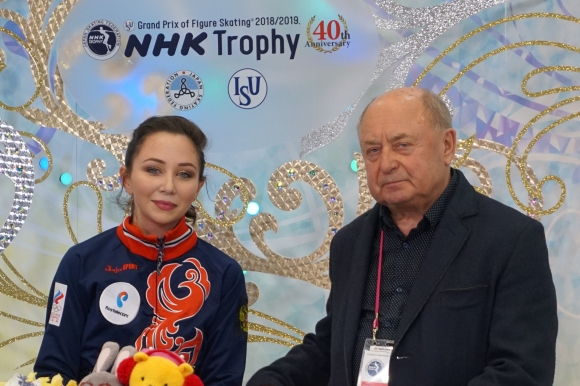 Елисавета Туктамишева поведе след кратката програма на NHK Trophy