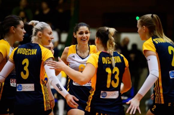 Ева Янева и Братислава загубиха първия си мач в Европа