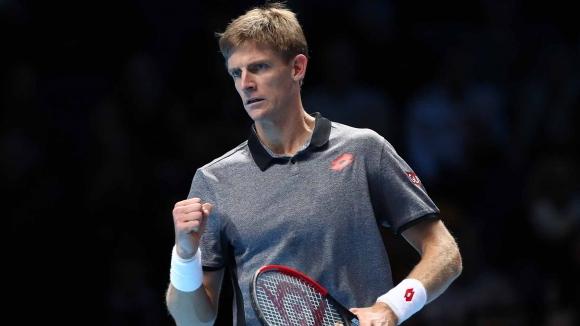 Кевин Андерсън дебютира с победа във Финалния турнир на ATP