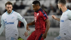 Бордо надигра Зенит, но отново не победи (видео)