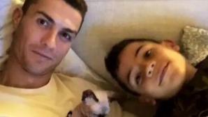 Кристиано Роналдо показа нов член на семейството си