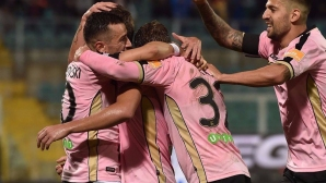 Чочев влезе за Палермо, отборът му вече е едноличен лидер (видео)