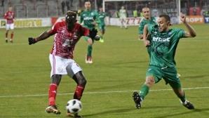 Гамбия се отказа от нападател на ЦСКА-София