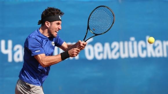 Васко Младенов отпадна на четвъртфиналите на двойки в Хелзинки