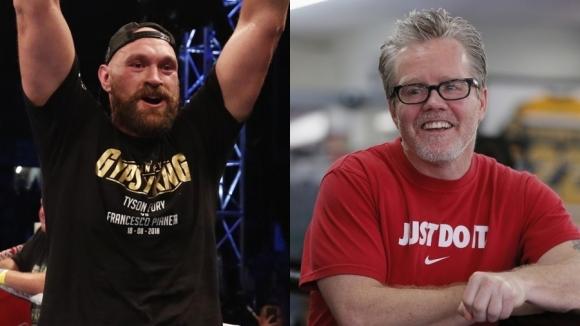 Фреди Роуч тренира Тайсън Фюри за мача срещу Дионтей Уайлдър (видео)