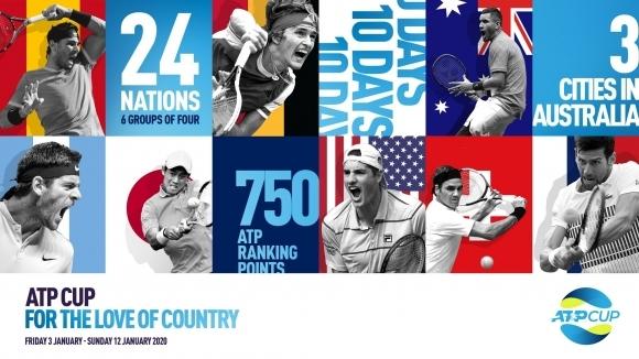 АТР и Тенис Австралия стартират нов отборен турнир - АТР Къп