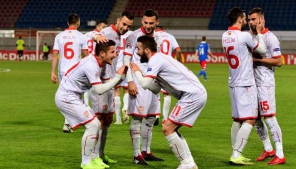 Македония измъкна победата срещу десетима от Лихтенщайн