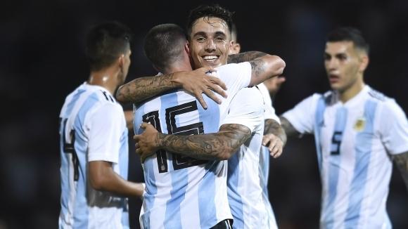 Аржентина взе първия рунд срещу Мексико