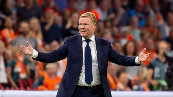 Куман доволен и изненадан от доминацията на Холандия