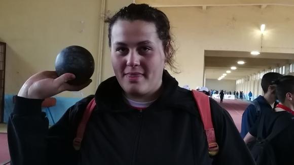 Яна Копчева отново подобри национален рекорд