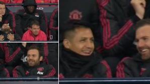Фенове на Юнайтед се ядосаха на Мата и Санчес