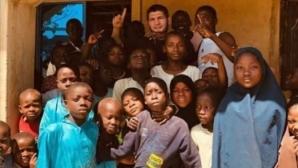 Хабиб отиде на благотворителна акция в Нигерия