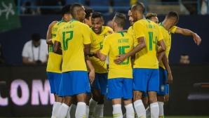 Бразилия обяви заместниците на контузените Коутиньо и Марсело