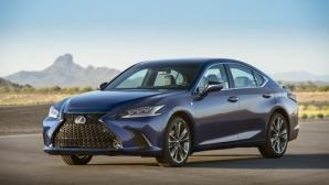 Изцяло новият Lexus ES е сред най-безопасните автомобили