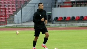Лазар Марин в отбора на кръга в грузинското футболно първенство