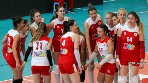ЦСКА постигна трета победа, взе гейм с 25:7 на Казанлък (галерия)