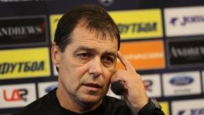 Хубчев: Ако направим толкова положения срещу Словения, дано влязат поне четири