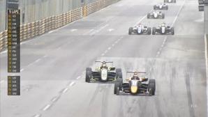 Macau GP: Тиктъм избегна куче на пистата и спечели полпозишън