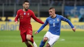 Португалската стена спря Италия за първото място
