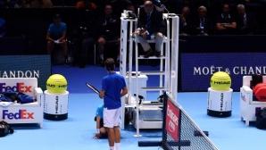 Повратният момент, след който освиркаха и Зверев, и Федерер (видео)