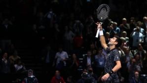 Стряскащо лесен поход на Джокович към мача за трофея от Финалите на АТР