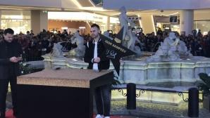 Акинфеев се сдоби със звезда в Алеята на шампионите