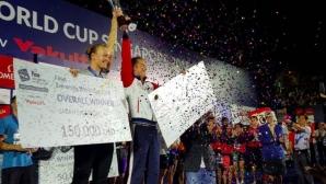 Морозов и Сьострьом със Световната купа по плуване